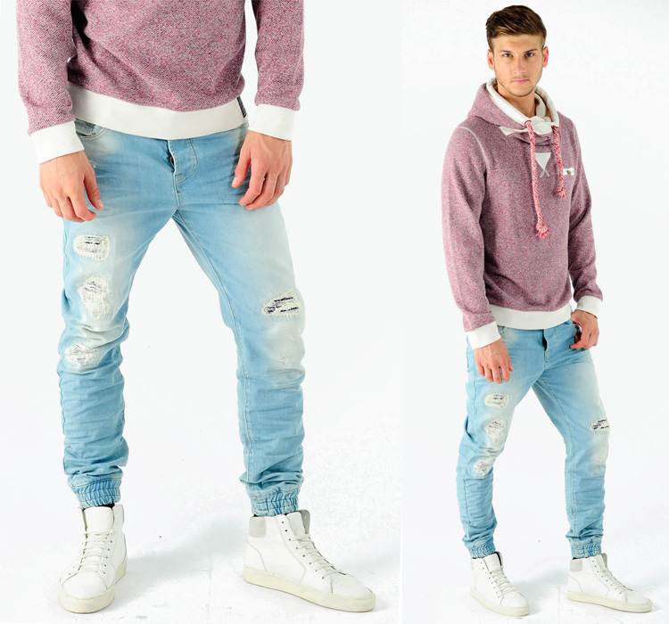 NOAH-Cuffed-Denim-Jeans