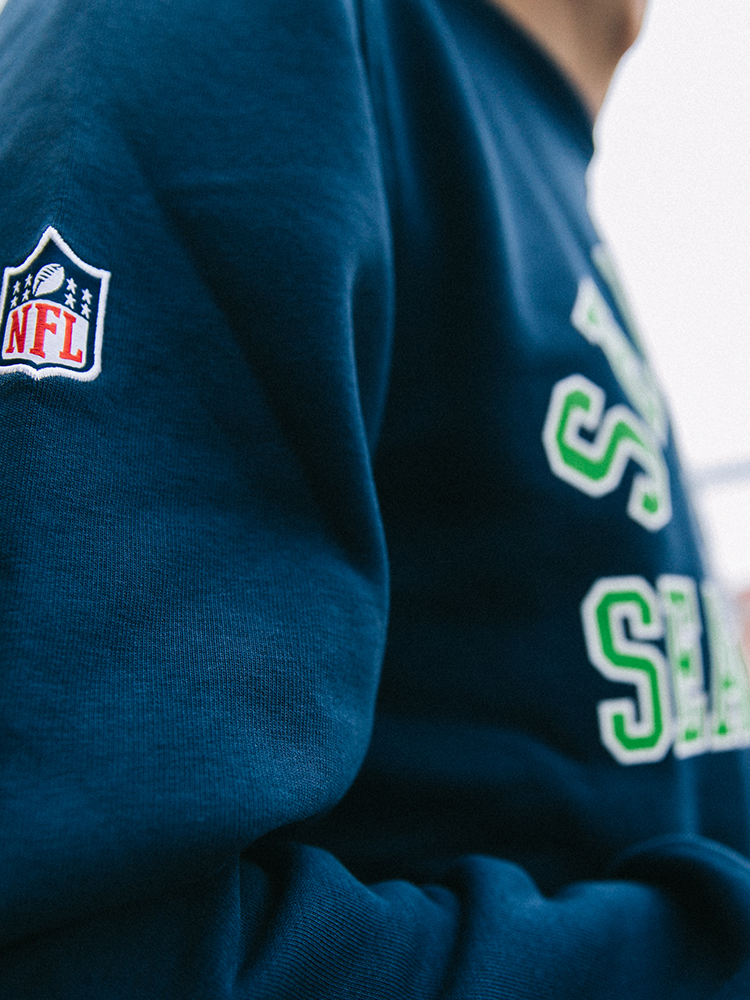 New Era Seahawks Pullover