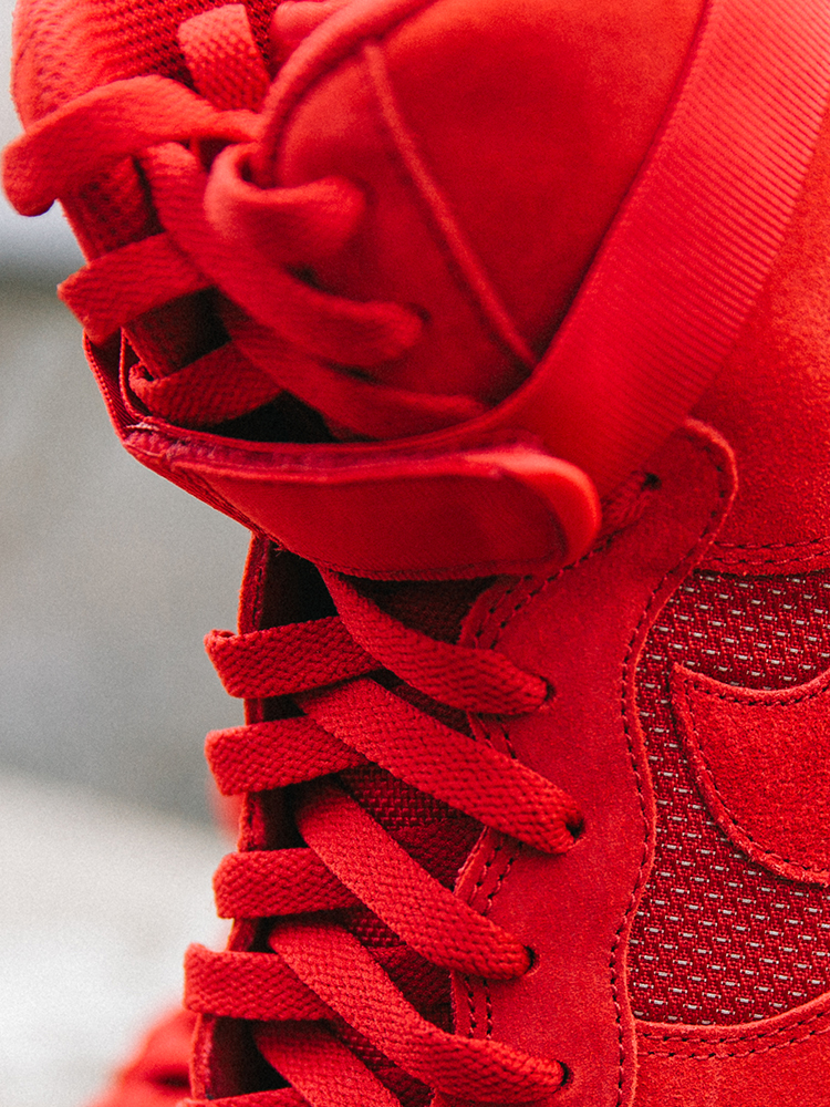 Sneaker Air Force 1 High 07 LV8 in rot_detail