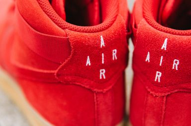 Sneaker Air Force 1 High 07 LV8 in rot_ferse