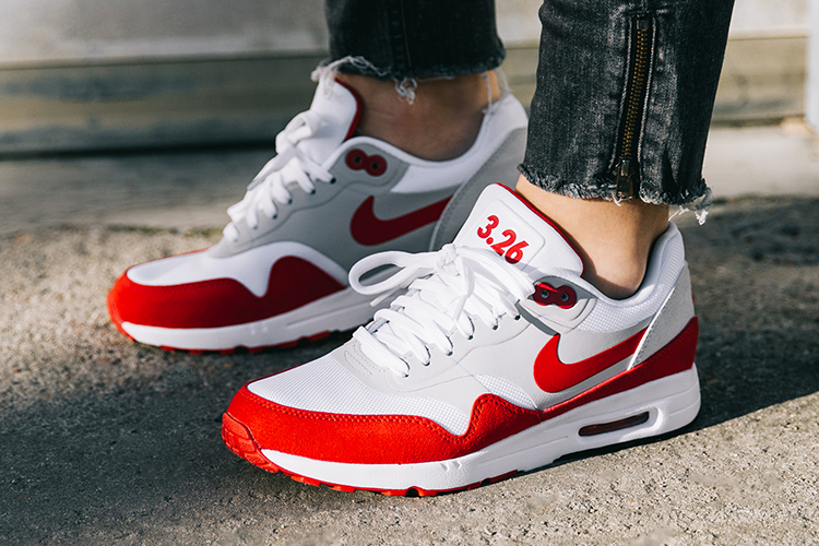 Nike Air Max 1 Ultra 2.0. weiß-rot