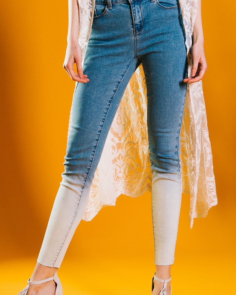 Two Tone Jeans Trends