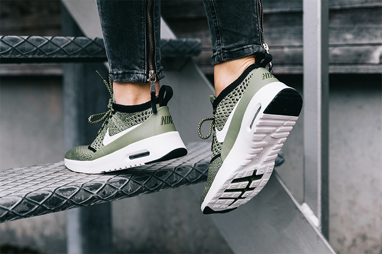 Sneaker Air Max Thea Ultra Flyknit in grün