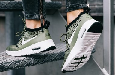 Sneaker Air Max Thea Ultra Flyknit in grün_Sohle