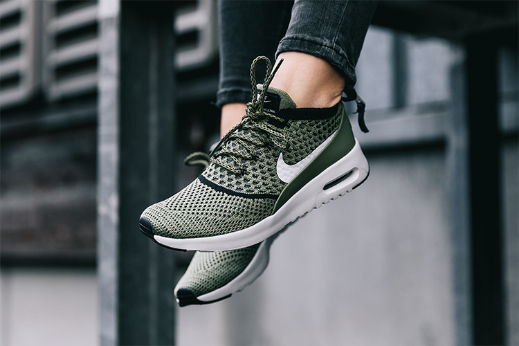 Sneaker Air Max Thea Ultra Flyknit_oliv