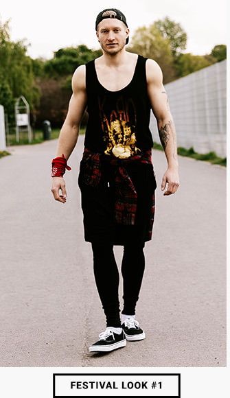 Festival Outfit mit Tank Top