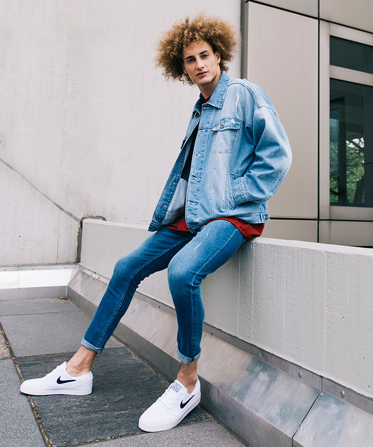 Denim Look und Sixth June oversize Shirt