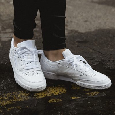 new style 15d04 17e21 Product of the Week: Reebok Club C 85 in Weiß | Defshop Magazin