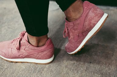Reebok classic leather in rosa