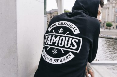 Famous Stars and Straps_Hoody schwarz