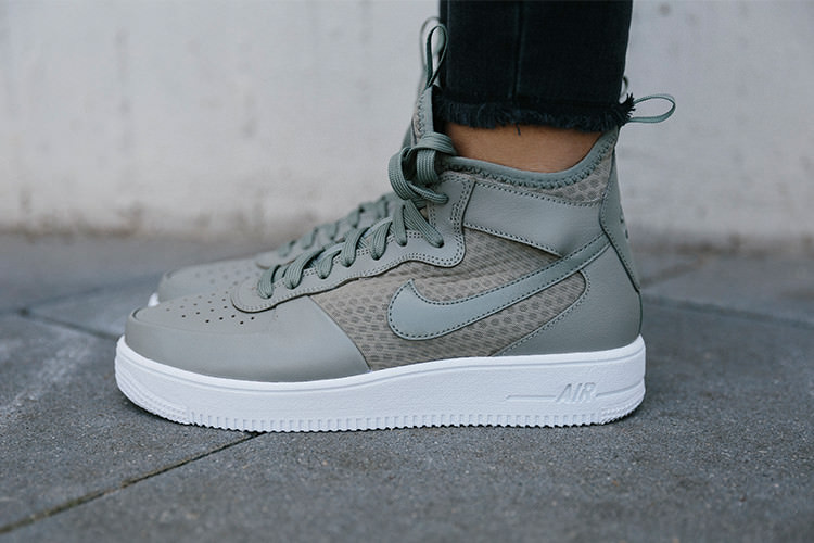 Nike Sneaker Air Force One Ultraforce in oliv | Defshop Magazin