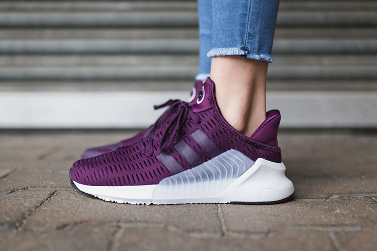 Sneaker Climacool 02-17_weinrot_seite
