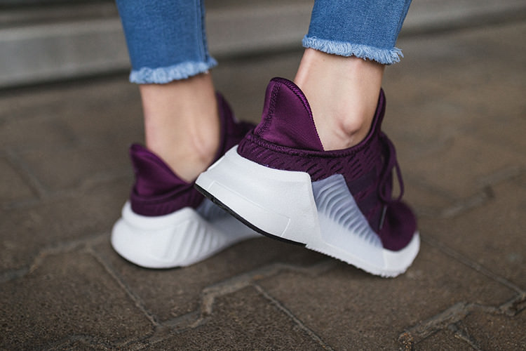 Sneaker Climacool 02-17_weinrot_sohle