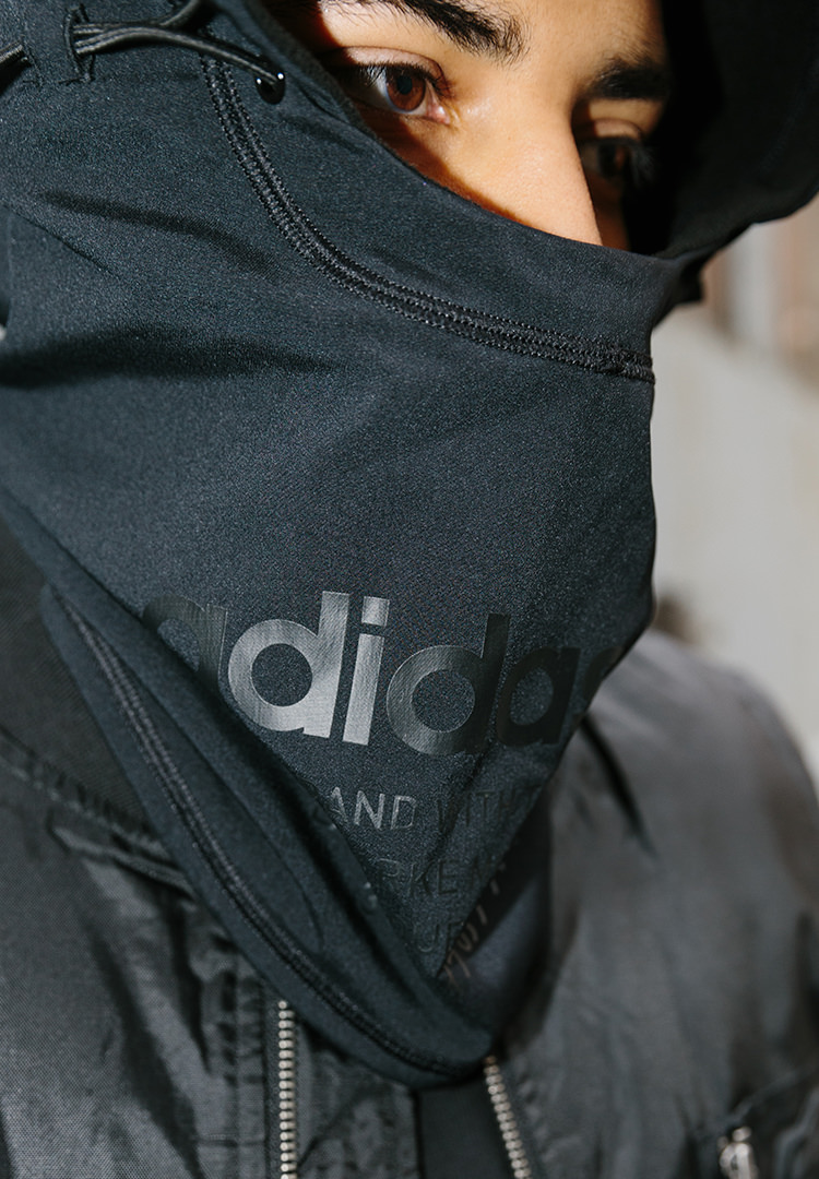 Product of the week Männer adidas hood detail