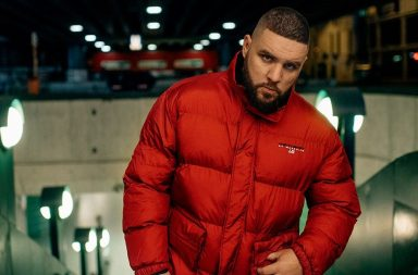 Ghetto Sport by Maskulin Puffer Jacket in rot
