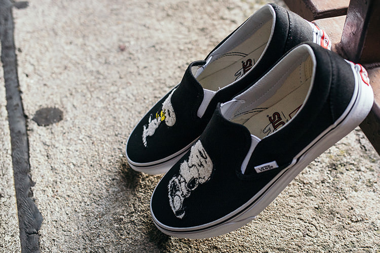 VANS Peanuts Snoopy patches