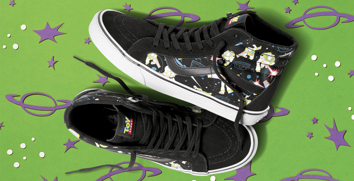 Nouvelle collection Vans Toy Story : Place aux rêves d