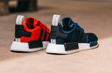 adidas nmd R1_mystic blue_core red