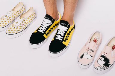 Baskets Vans & Peanuts