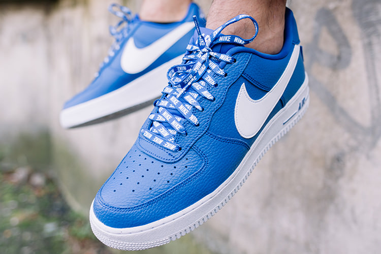 air force 1'07 lv8 bleu