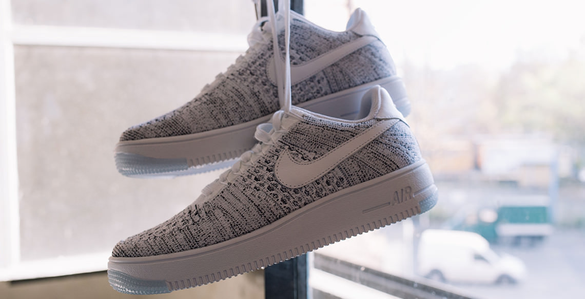 competitive price 5b11c 0aa07 Article de la semaine  Nike Air Force Flyknit Low