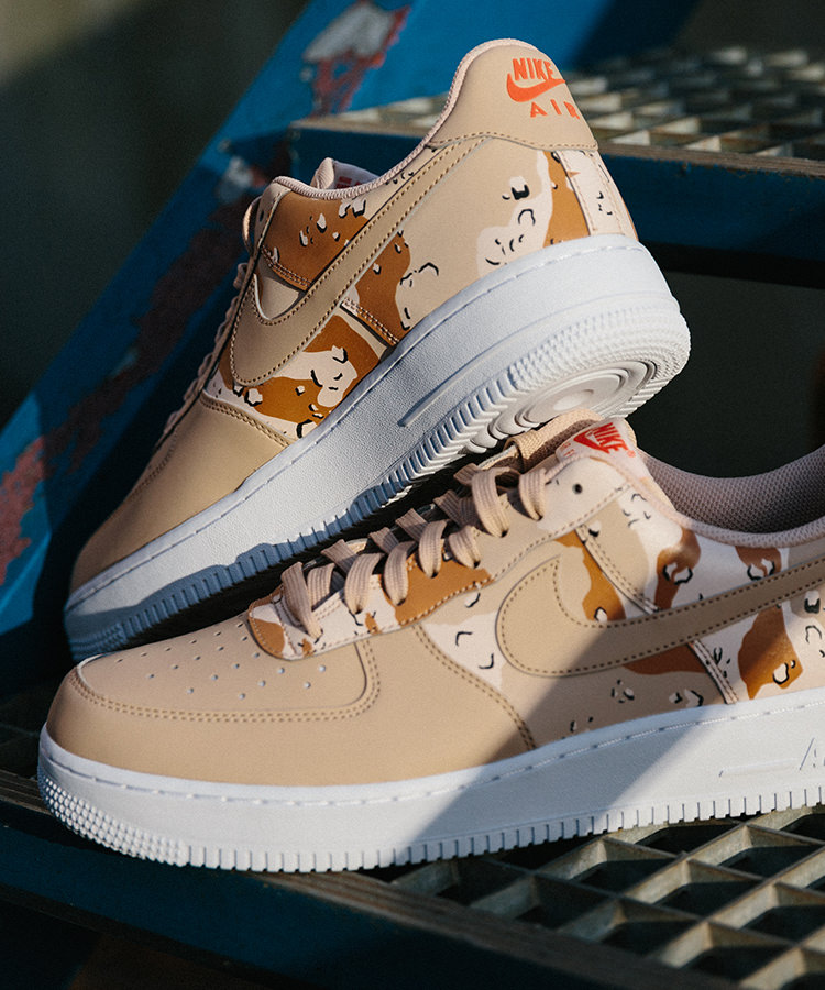 Baskets Nike Air Force 1 '07 LV8 Country Camo Pack