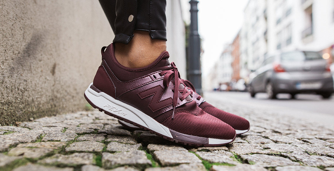 new balance bordeaux rot