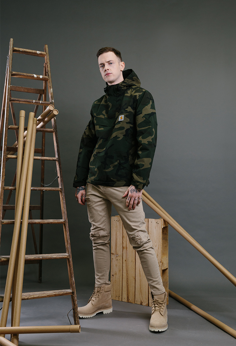 tenue-homme-timberland-beiges