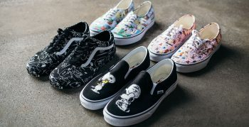 Vans Peanuts collection by Schulz