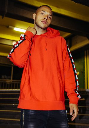 Ghetto sport by maskulin hoodie rood