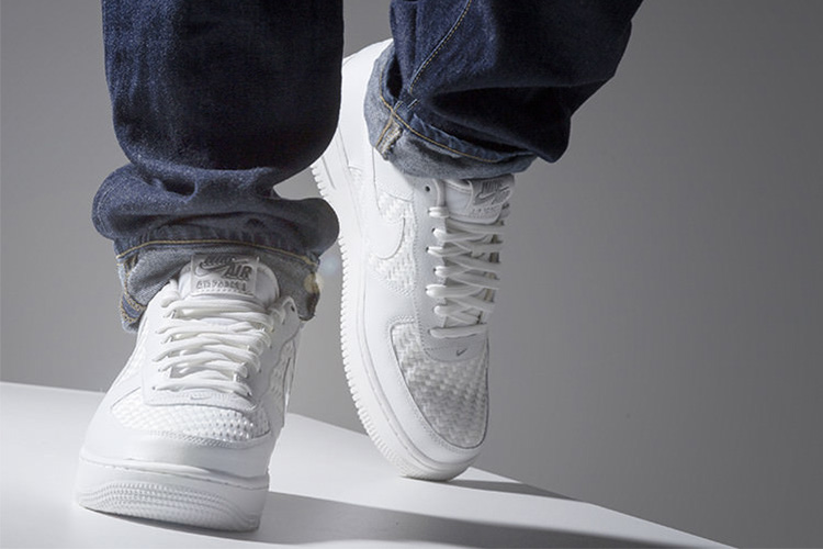 witte sneakers nike air force 1