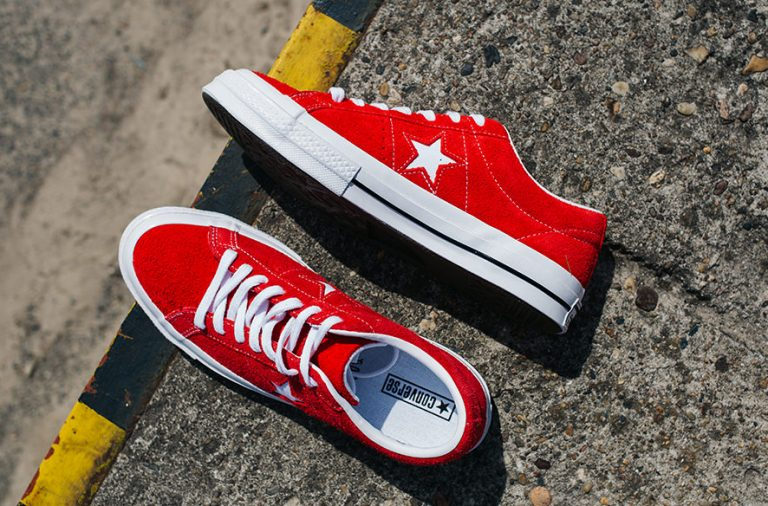 Converse one star rood