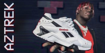 Back to the 90's met Lil Yachty en de Reebok Aztrek