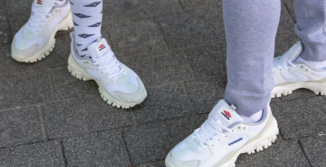 Umbro Bumpy Dad sneakers for the win!